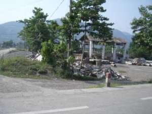 CMAT assessment photo of devastation in Sichuan, China.
