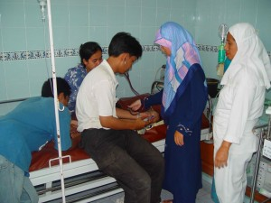 CMAT will support doctors, nurses, medications and medical supplies to Malahayati Hospital in Banda Aceh, Indonesia, being run by MER-C Indonesia.