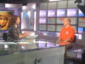 CMAT Assessment Team Leader Martin Metz appears on CBC News Now on Sunday September 5.
