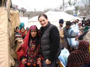 CMAT Field Project Coordinator Ms. Tara Newell.