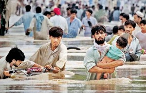 12 to 14 Million people have been displaced as a result of flooding in Pakistan.