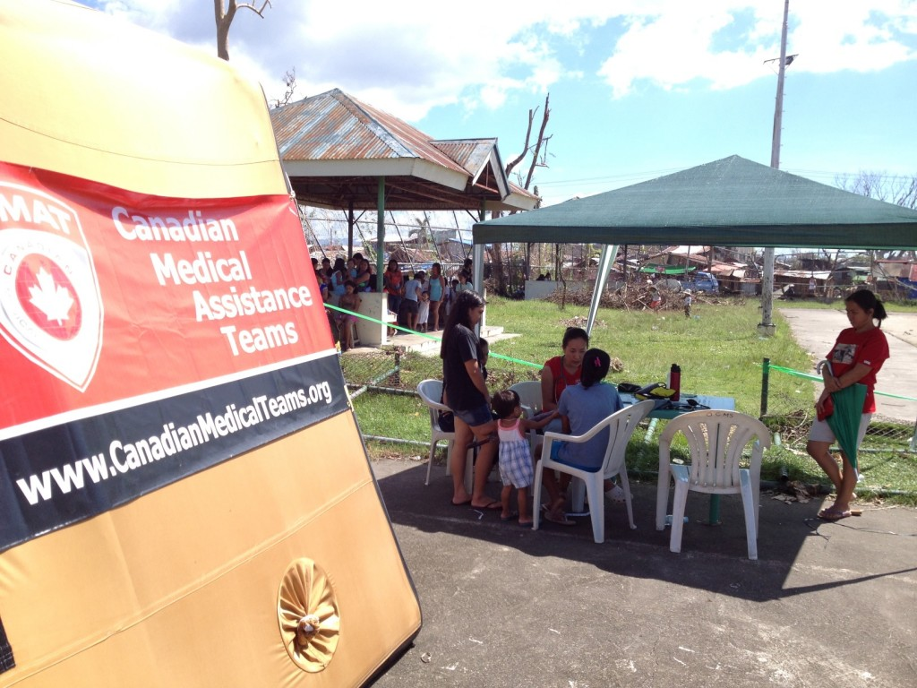 CMAT's Field clinic in Ormoc City, Leyte.