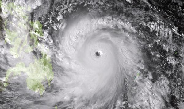 Super-Typhoon Haiyan made landfall in the Philippines in the early morning hours of November 9, 2013.