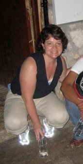 CMAT Volunteer Jeanne LeBlanc, in Haiti 2010.