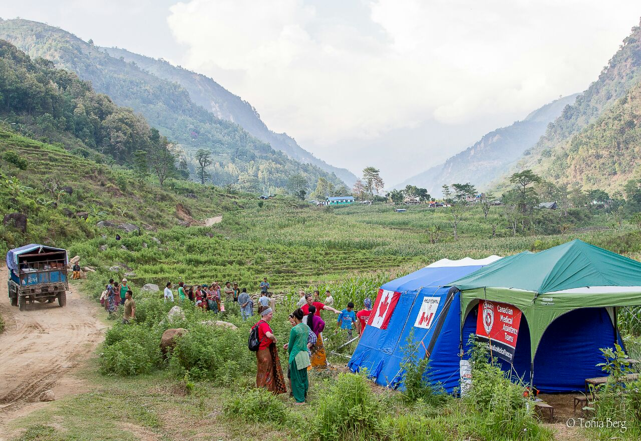 CMAT Clinic in the Baluwa Valley, approximately 8 hours Northwest of Kathmandu, beyong Gorkha.