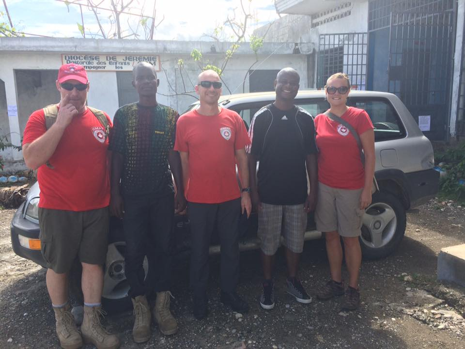 CMAT has safely arrived in Jérémie! A big thank you to our transport team.